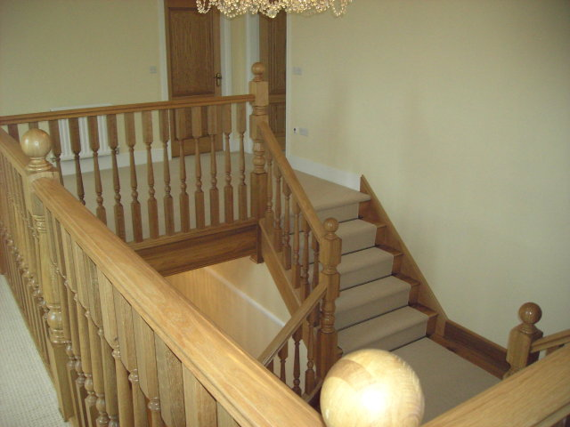 A Bespoke Staircase by Springfield Stairs, Swadlincote, Derbyshire